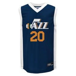 NBA Utah Jazz Youth Boys' Athletic Jerseys - Blue/White - Size: Large
