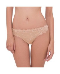Scandale Women's Comfort Lace Hipster Briefs - Golden Cream - Size: Small 1021652