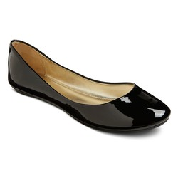 Xhilaration Women's Shae Ballet Flats - Black - Size: 7.5