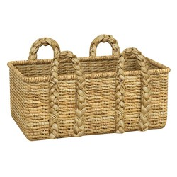 Metro Palmer Rectangular Wicker Storage Basket - Light Brown