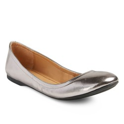 Mossimo Women's Ona Ballet Flats - Silver - Size: 8