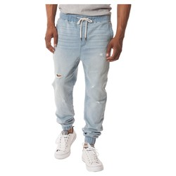 Jackson Men's Denim Jogger Pants - Blue - Size: Large