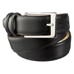 Merona Men's Silver Buckle Belt - Black - Size: XXL