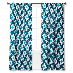 "Sabrina Soto 54 x84"" Corazon Curtain Panel - Multi"
