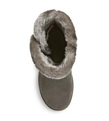 Women's Kamar Shearling Style Boots - Grey -Size: 9