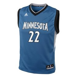 NBA Minnesota Timberwolves Youth Athletic Jerseys XL