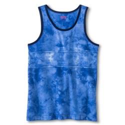 Mossimo Boys' Tie Dye Tank Top - Blue - Size: XL