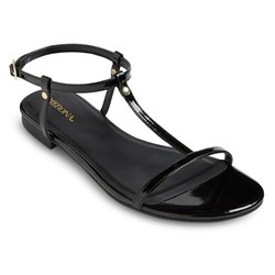 Merona Women's Alma Sandals - Black -Size: 7.5