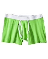 Mossimo Men's Boxer Briefs - Neon Green - Size: XL