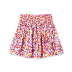 Genuine Kids from Oshkosh Girls' Floral Mini Skirt - Coral - Size: S(6-6X)