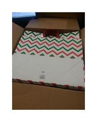 Spritz Red and Green Gift Bags - Case of 24