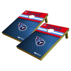 Wild Sports 2x3' Tennessee Titans Platinum Shield Cornhole Bag Toss Set