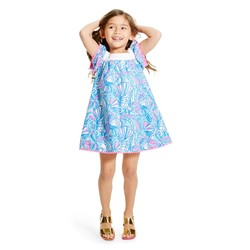 Lilly Pulitzer Girls' Infant Toddler Dress - My Fans - Size: 4T