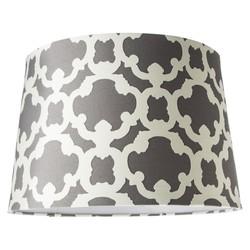 Threshold Flocked Elephant Large Lamp Shade - Grey