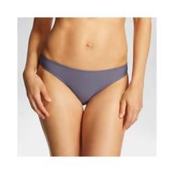 Xhilaration Women's Junior's Bikini Bottom - Grey - Size: Medium