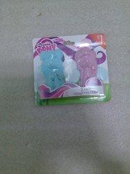 Hasbro Fim Rainbow Dash & Pinkie Pie Figurine Character Chalk Set.