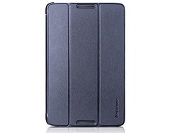 Lenovo A8-50 Folio Case and Film blue