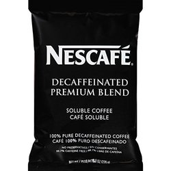 Nescafe Coffee Premium Blend Decaf Vend Pack - 8-ounce