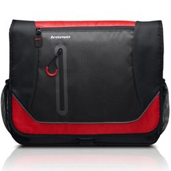 "Lenovo Carrying Case for 15.6"" Notebook - Red/Black"