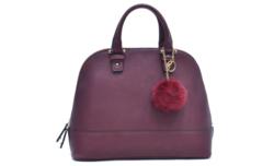 Gino Severini Half-Moon Handbags - Wine