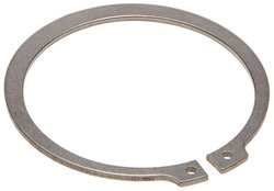 Small Parts Standard External Retaining Ring 5 Pack - Stainless Steel