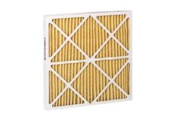 "Filtration HC Pleated Air Filter Synthetic Media - White -Size: 14""x25""x1"""