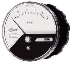 Wika Low Pressure Differential Pressure Gauge with Surface Mount
