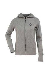 NFL Women's Oakland Raiders Signature Full Zip Hood - Gry Heathr - Size: S