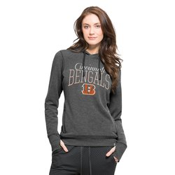 NFL Cincinnati Bengals Women's Hoody - Medium Heather Grey - Size: Small