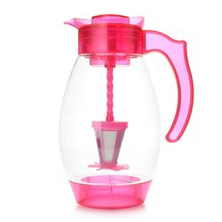 Cook's Companion 4 in 1 Chill Brew Filter & Infuse Tritan Pitcher -Magenta