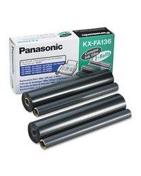 Panasonic Fax Replacement Ribbon 2 Rolls Kx Fa136