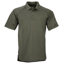 5.11 Men's Tactical Polo Short Sleeve Shirt - Green - Size: Large