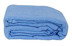 All-season Thermal Blanket: Light Blue/king