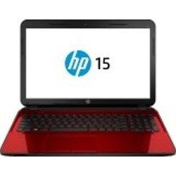 "HP Pavilion 15.6"" Laptop 2GHz 4GB 500GB  Windows 7 - Red (15-G273NR)"