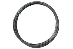 Loos Monel Wire Rope 7x7 Strand Core 850 lbs Breaking Strength