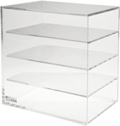 Dynalon 172175 Acrylic Lab Rack Holder for Trays and Other Lab Rack Sytm.