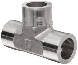 Parker Weld Lok 12 Steel 316 Socket Weld Tube Fitting Tee - Size: 3/4""