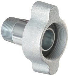 "Dixon Boss GMAS11 Plated Iron Hose Fitting - 1"" NPT Male"