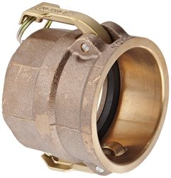 "Dixon Brass Type D Cam & Groove Hose Fitting - 3"" Socket x 3"" NPT Female"