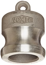 Dixon Stainless Steel 316 Boss Lock Type DP Cam & Groove Hose Fitting - 1""