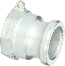 Dixon 150-A-PM Plated Iron Boss-Lock Type A Cam & Groove Hose Fitting