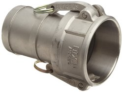 Dixon 400-C-SS Stainless Steel 316 Type C Cam & Groove Hose Fitting