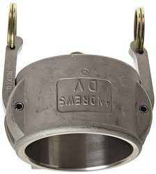 """Dixon Stainless Steel 316 Type DC Cam & Groove Hose Fitting - 2-1/2"""""""