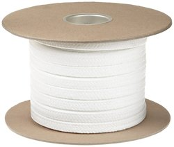 Palmetto FDA Compliant PTFE Compression Packing Seal - White