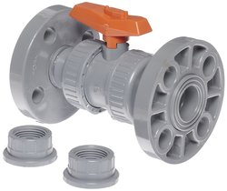 """GF Piping Systems Two Piece CPVC True Union Ball Valve - Size: 1"""""""