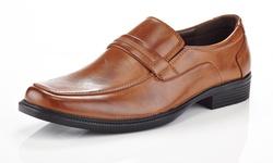 Marco Vitale Men's Classic Dres Shoes - Brown - Size:11