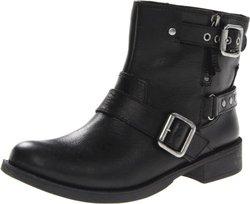 Nine West Women's Tieler Boot,Black Leather,8 M US