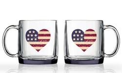 Americana Heart Nordic Mug