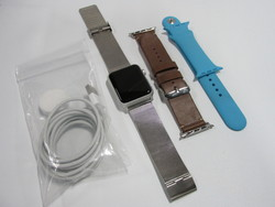 Apple Watch Bundle 42mm Blue with - Starter Kit BAW42SK1- 400 (w/out Stand)