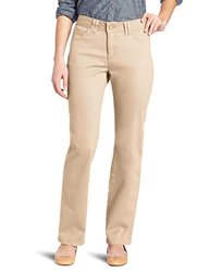 Lee Women's Classic Fit Jackie Straight Leg Pant - Camel - Size: 10